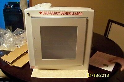New Modern Metal Products Wall Mounted Emergency Aed Cabinet Walarm