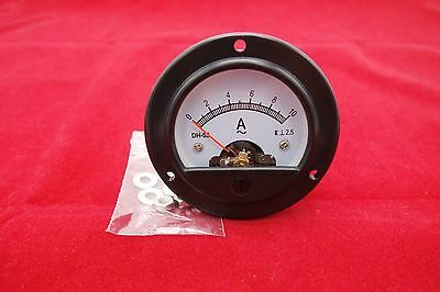1pc Ac 0-10a Round Analog Ammeter Panel Amp Current Meter Dia. 66.4mm Dh52