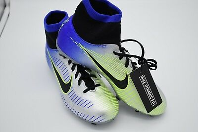 pretty nice 8f66c 7b1e9 Nike JR Mercurial Victory VI Neymar DF FG Soccer Cleats 921486-407 YOUTH  Size 5Y