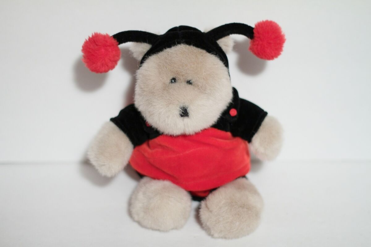 Starbucks Ladybug 14th Edition Bearista Teddy Bear Plush Toy 2001