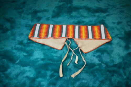 Native American Beaded Band/Belt?