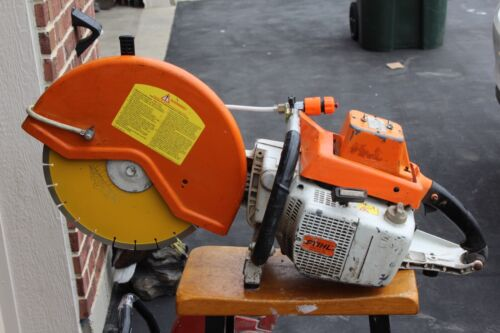.STIHL TS - 510 16 INCH,,, W / H 2-0  HOOK UP NEW BLADE, ALL O.E.M. LOW HOURS,,