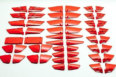 Lego Technic Faring Panel Red Fairing Bricks Lot L Set Bulk Pieces lbs kg
