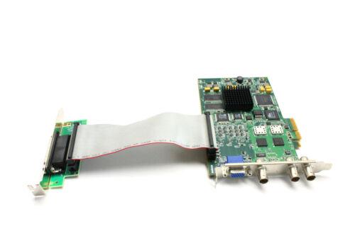 Matrox Vio Vio7isaosa/c* Y7321-03 & Adapter Pcie Vga Video Imaging Frame Grabber