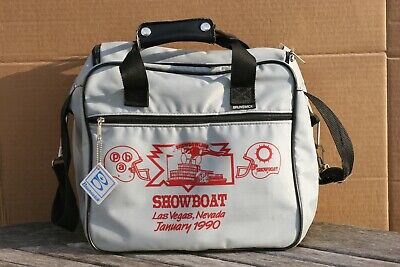 RARE Vintage Brunswick Bowling Soft Carry Case Bag w/Logo Las Vegas ShowBoat