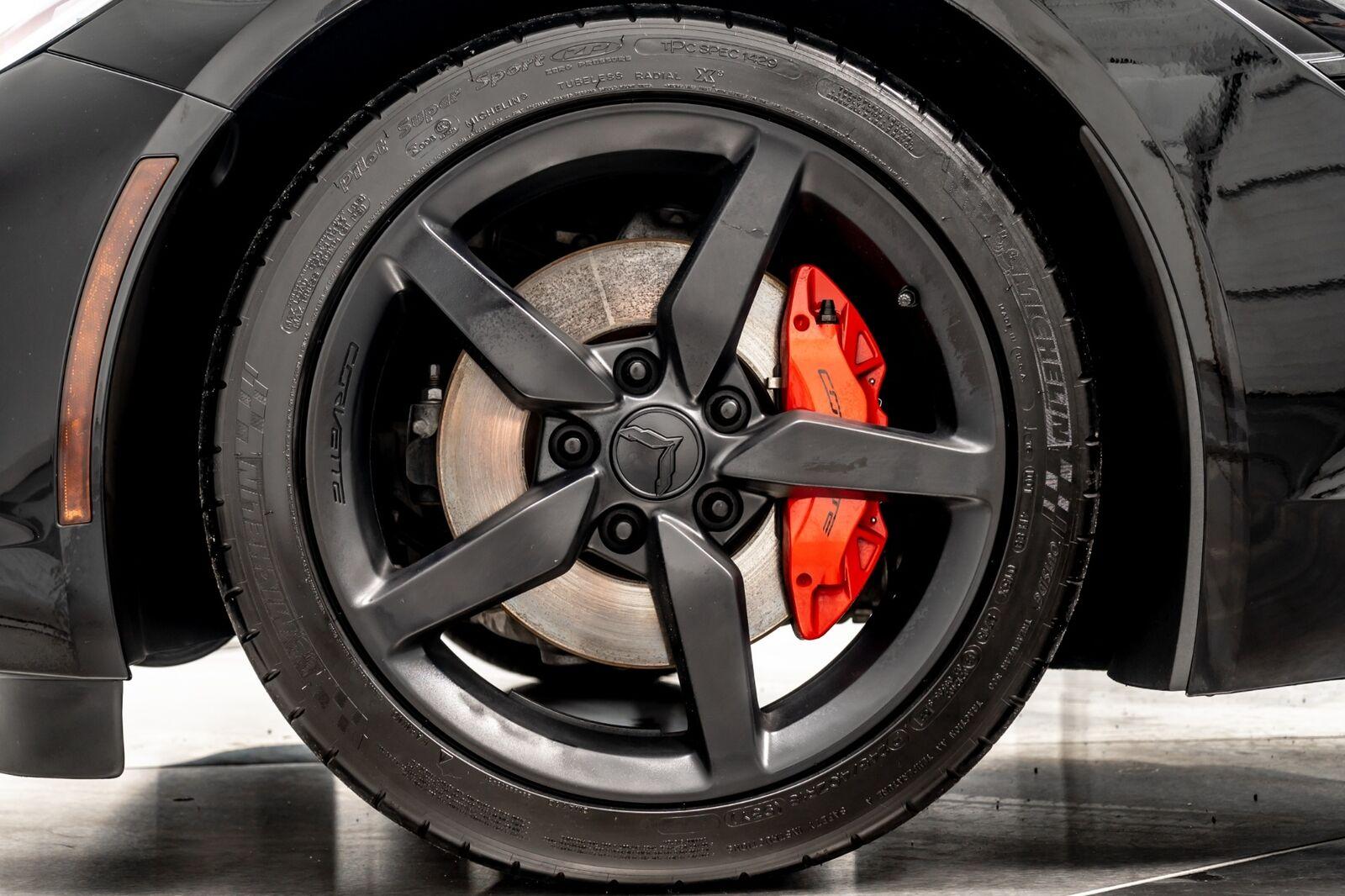 2014 Black Chevrolet Corvette Convertible 2LT   C7 Corvette Photo 9