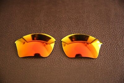 PolarLenz Polarized Fire Red Replacement Lens for-Oakley Half Jacket 2.0 XL