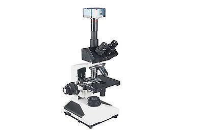 Professional Clinicaltrinocular Led Microscope 5mp Usb Camera Measuring Software