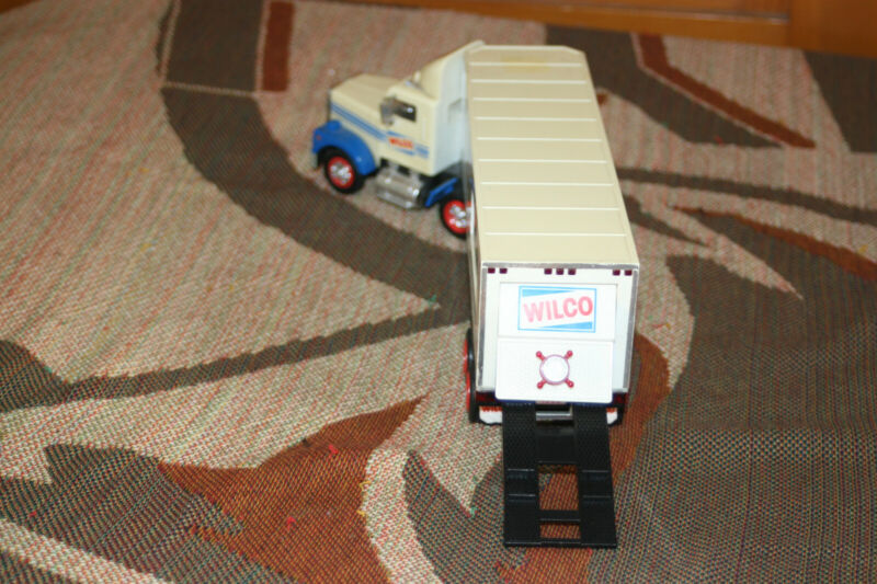 vintage 1993 wilco gasoline semi toy truck 14in rare htf very collectable