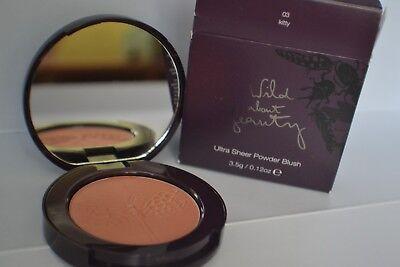 BNIB WAB Wild About Beauty Ultra Sheer Powder Blush 03 Kitty with mirror 3.5g  -