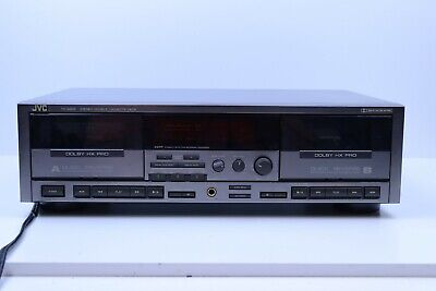 Vintage JVC Stereo Double Cassette Player Recorder TD-W805 Dolby HX Pro Jvc Cassette Player
