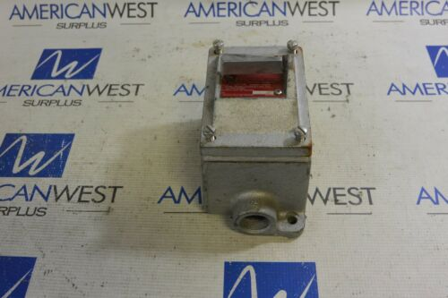 EDSC2130 Crouse-Hinds Snap Switch NEW