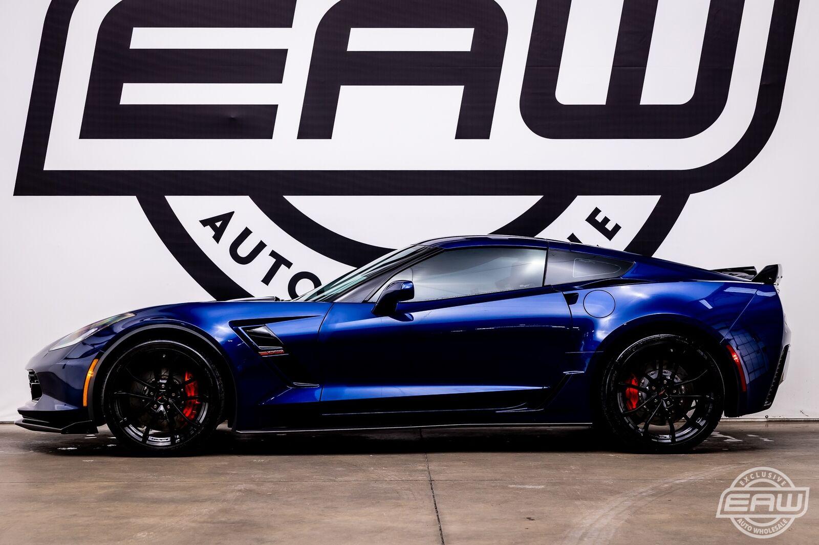 2017 Blue Chevrolet Corvette Grand Sport 2LT | C7 Corvette Photo 3