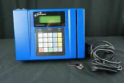 Accutime Systems Ceridian Cs2100 Time Clock With Biometric Scanner W Key