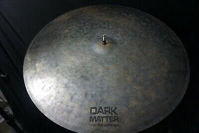 Series Flat Ride Cymbal - Dream Cymbals Dark Matter Series 22″ Flat Earth Ride