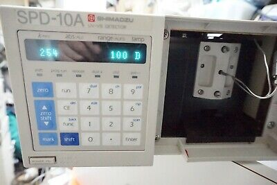 Shimadzu Spd-10a Hplc System Uv Vis Detector Agilent Waters Hp Working