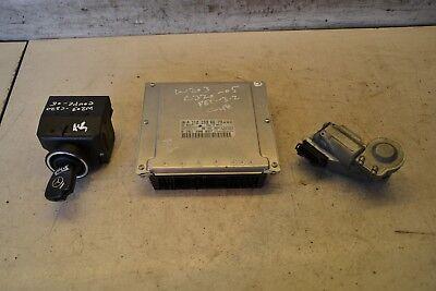 Mercedes C Class ECU Set 0261208657 W203 C320 V6 Petrol Ignition Switch Set 2005