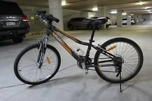 Orange Stryke child mountain bike in great condition