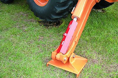 Stabilizer Combo Lock For Outrigger Case Cat Caterpillar Deere Backhoe Security