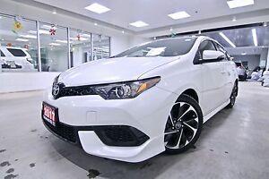 2017 Toyota Corolla iM TOYOTA CANADA EXECUTIVE DRIVEN,ONE OWNER,