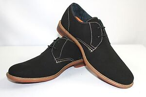 new men 039 s black ferro aldo shoes round toe suede