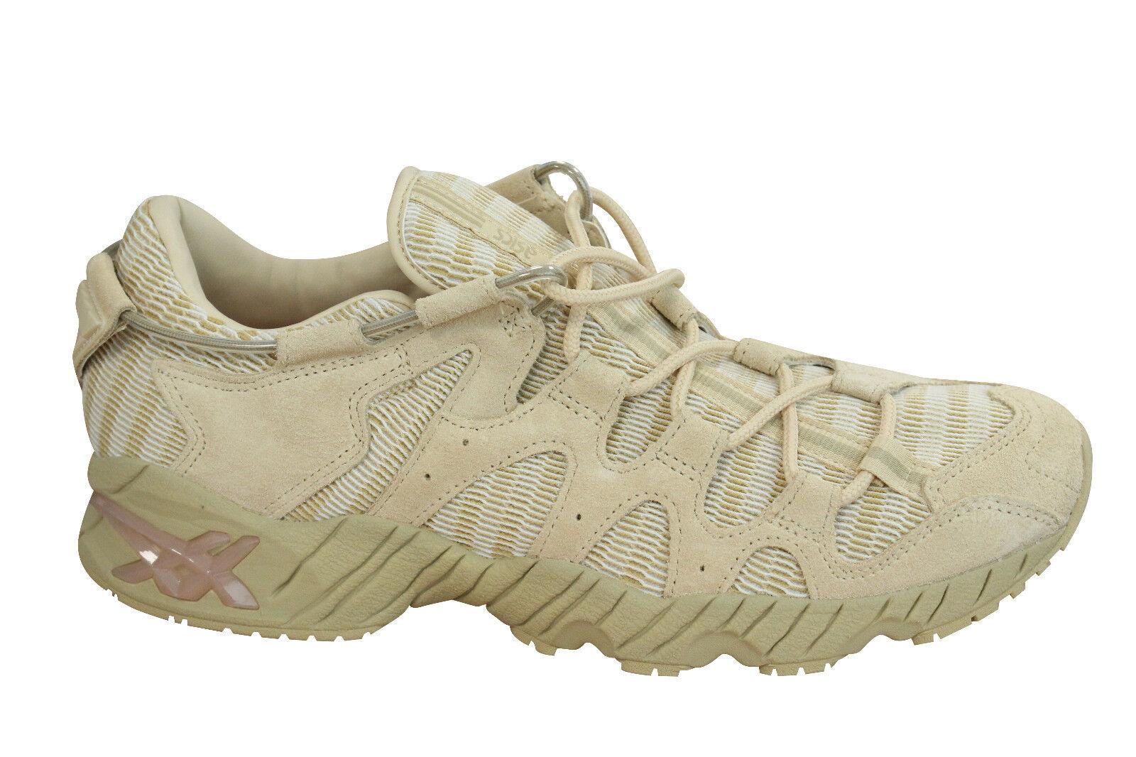 Details about Asics Gel Mai fuzeGEL Mens Trainers Lace Up Shoes Marzipan H7Y3L 0505 D27