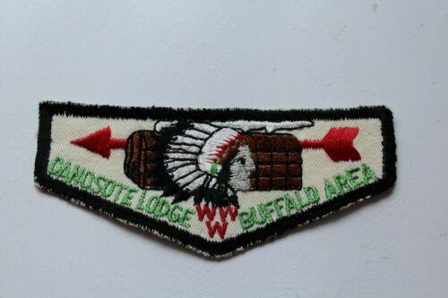 Vintage BSA Boy Scouts Ganosote Lodge Buffalo Area WWW Patch