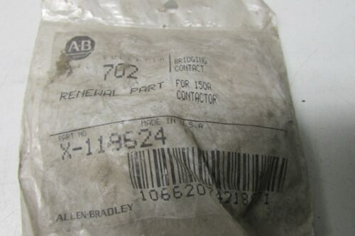 Allen Bradley X-119624 Bridging Contact For 150A Contactor