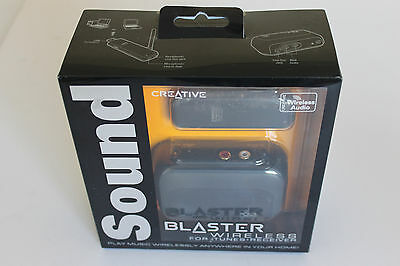 Creative Labs Sound Blaster Wireless Audio Transmitter and Receiver Bundle NEW