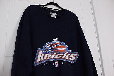 Rare Vintage 90s Puma New York Knicks Sweatshirt  Size 2XL Tall