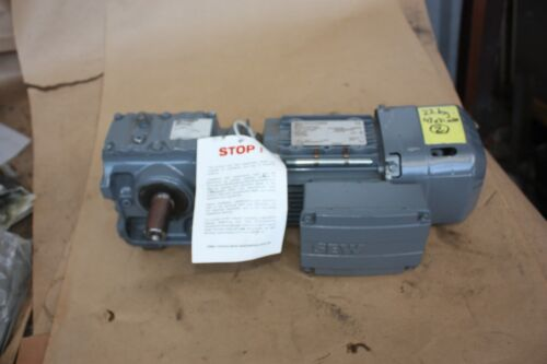 SEW Eurodrive S47 DRS71M4BE1HR electric motor gearbox 16..43:1 0.55kW 3 PHASE