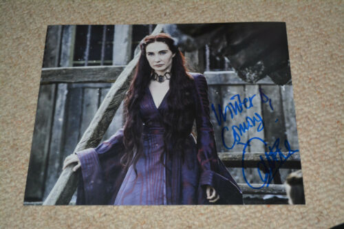 CARICE VAN HOUTEN signed autograph In Person 8x10 20x25cm GAME OF THRONES  Quote
