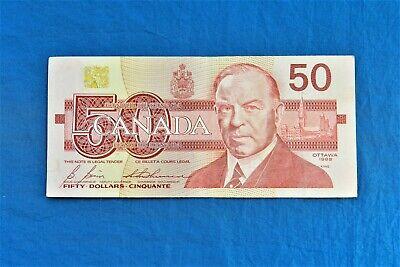 1988 Canada $50 Banknote *P-98b*         *VF*