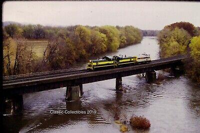 Original Slide North Shore Railroad Crossing Bald Eagle Creek,PA Kodachrome 1997, used for sale  Emmaus