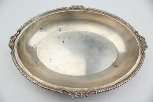 Vintage Estate Silver Oval Bowl/Dish