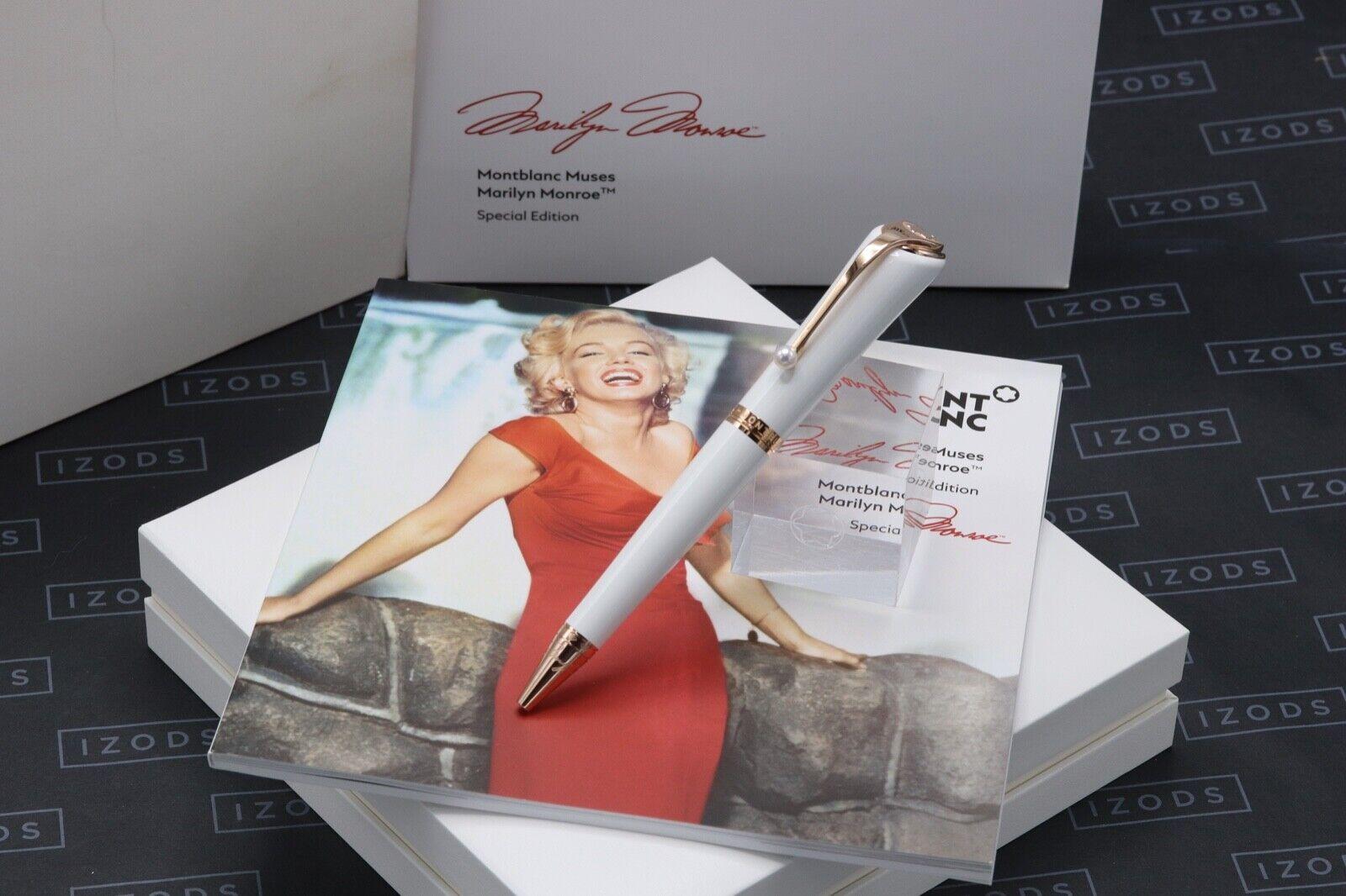 Montblanc Muses Edition Marilyn Monroe Pearl Ballpoint Pen - UNUSED