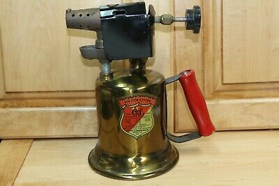 Vintage  Antique Clayton Lambert plumbers torch Blow Torch