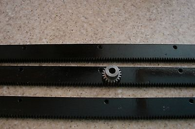 Cnc Plasma Taable Mech Rack Gear 72 Rack 3x24pcs 38 20t Pinion Gear