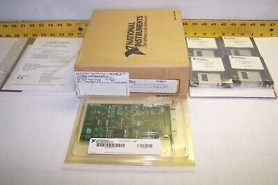 New National Instruments Multi-function Io Board Software Lab-pc-1200