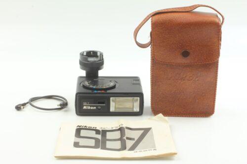 【NEAR MINT】Nikon SB-7 Speedlight Flash Unit for F F2 with SS-7 from Japan #0033