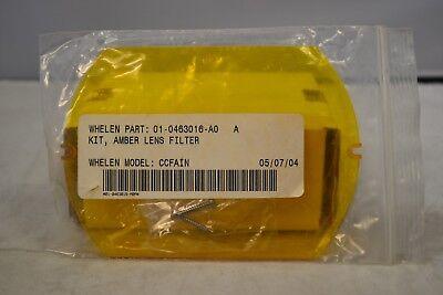 Whelen Amber Lens Filter Ccfain
