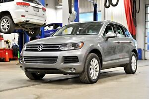 2014 Volkswagen Touareg 3.0 TDI * CUIR * TOIT * GPS * HITCH * 8