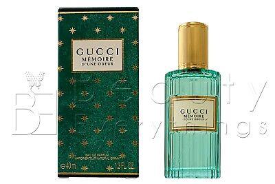 Gucci Memoire D'une Odeur 1.3oz / 40ml Eau De Parfum Spray NIB Sealed For (Gucci Germany)