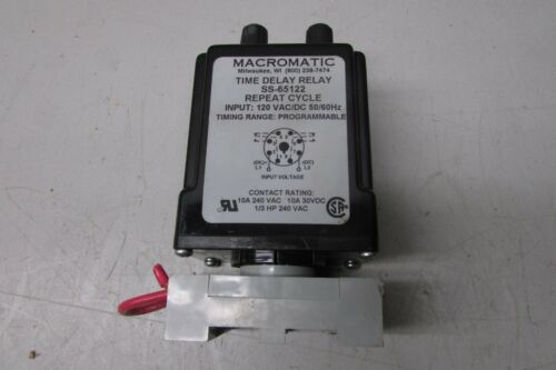 Macromatic SS-65122 Time Delay Relay