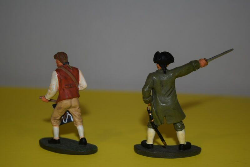 Britains 54mm toy soldiers, American Revolution