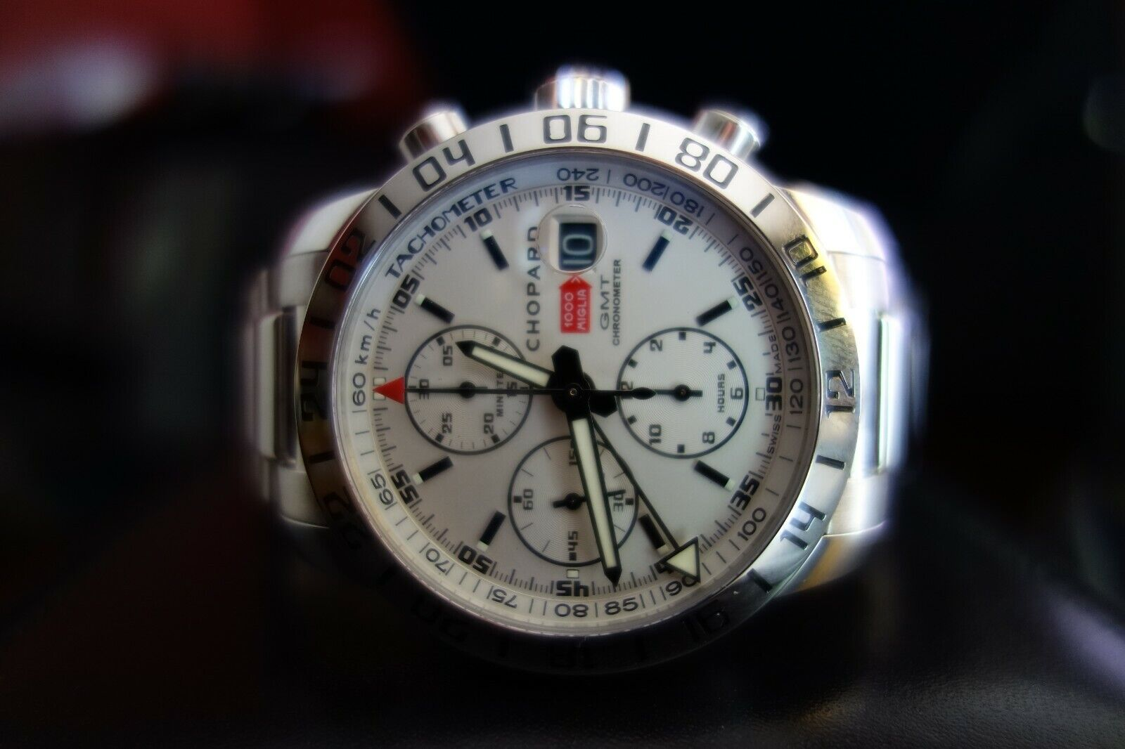Chopard Mille Miglia GMT Chronograph 158992-3002 Wrist Watch for Men - watch picture 1