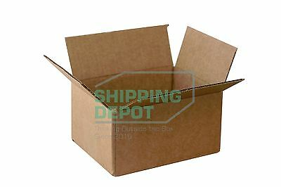 1-200 8x6x4 Corrugated Cardboard Packing Shipping Mailing Moving Carton Boxes