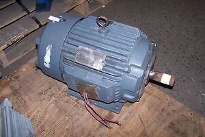 New reliance 7 5 hp electric ac motor 460 vac 1760 rpm for 7 5 hp electric motor 3 phase