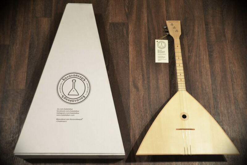 Balalaika 3 Strings 3S-16 Manufaktura: