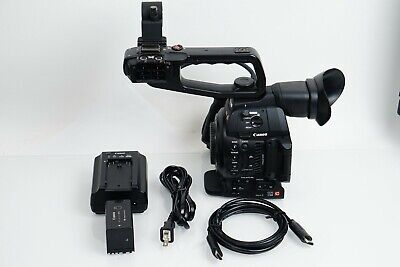 Canon EOS C100 Mark II Full HD Cinema Camera w/ Dual Pixel AF, ONLY 405 HOURS